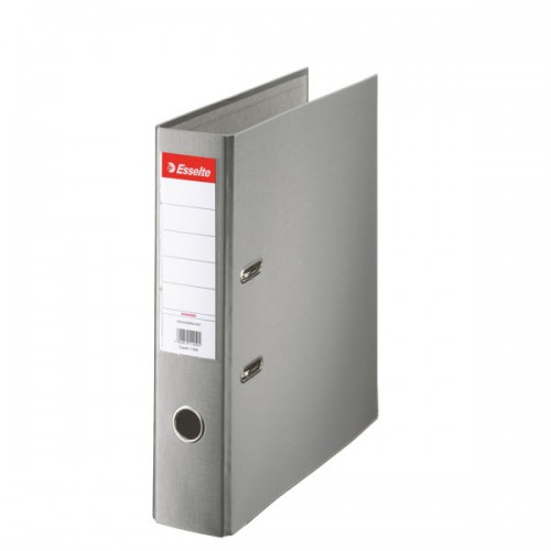 Esselte Lever Arch File A4 Polypropylene 75mm Grey