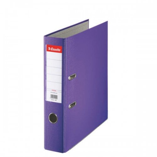 Esselte Lever Arch File A4 Polypropylene 75mm Purple