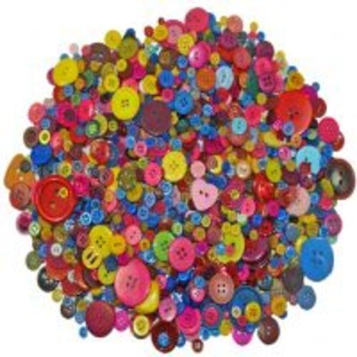 Craft Buttons Assorted 450gsm L-BU4510