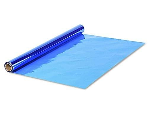 Cellophane Roll 500mm x 5mtrs. Blue