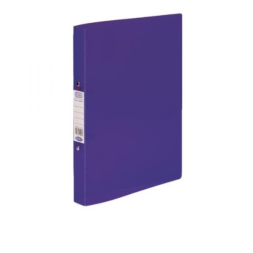 Elba Snap Frosted Ring Binders A4 Purple 400002003