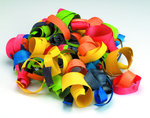 Wood Shavings Assorted 6 Colours 100gsm L-WS8201