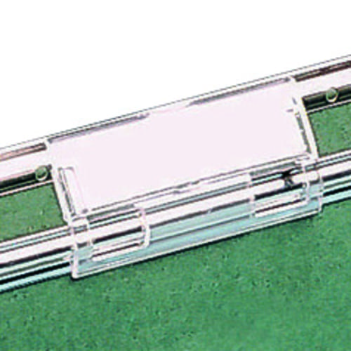 Intiative Suspension Files Clear Plastic Tabs Pack 50 10330216