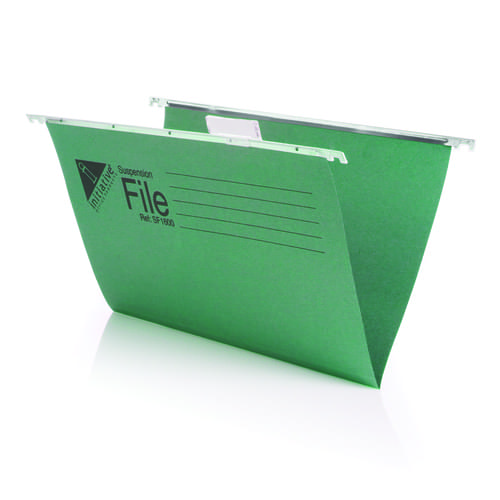 Initiative Supsension Files A4 Green Pack 50s