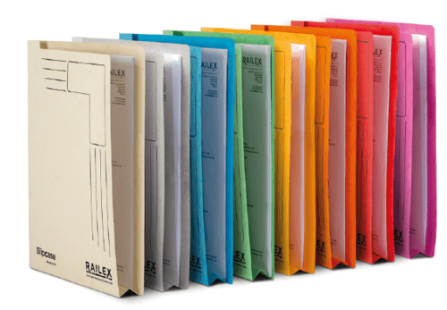 Railex Slipcases A4 Assorted