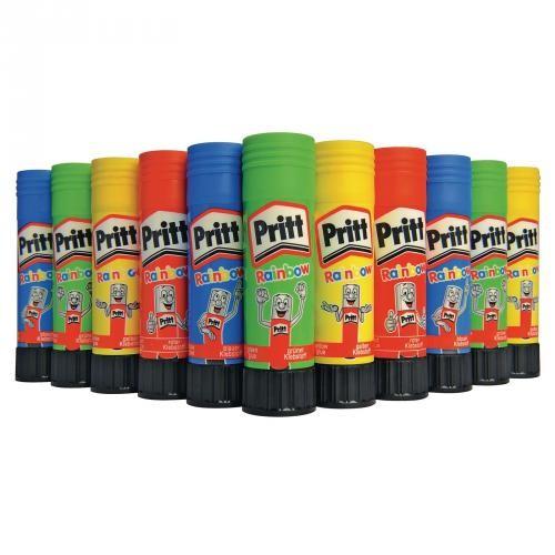 Pritt Coloured Glue Sticks 10g Assorted