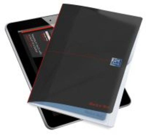 Black n Red Tablet B5 Professional Note Book 96 Pages Of Smart Ruled 90gsm Paper