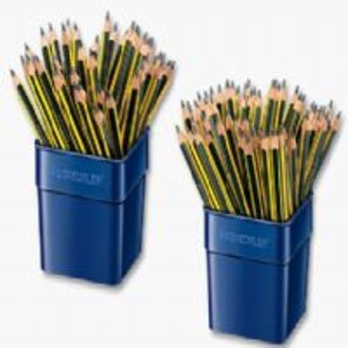 JUMBO Staedtler Tri Plus Blacklead Pencils Tub Of 72 119TUB72