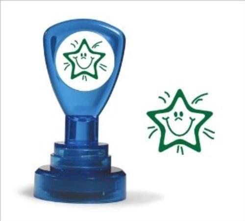 Classmates Motviational Stamp Smiley Star