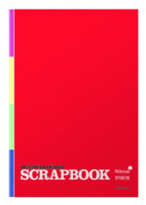 Silvine Perfecto Multi Coloured Scrap Book 335mm x 230mm