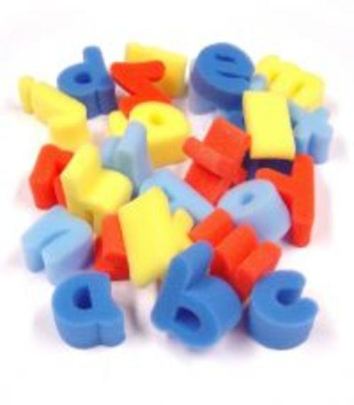 Foam Letter Shapes Pack Of 26 Lowercase Letters