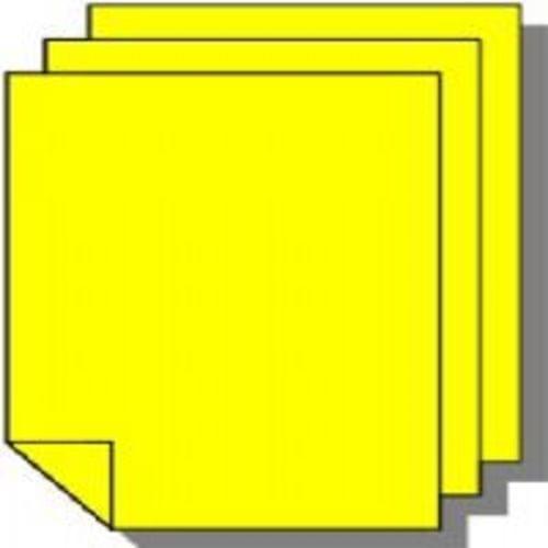 Tinted Board A4 380 Microns Daffodil