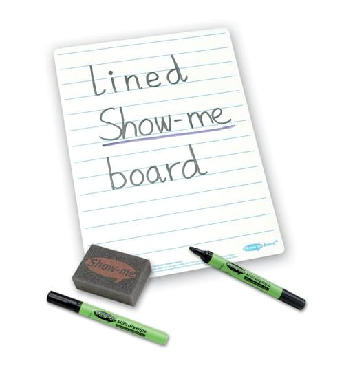 Show Me Drywipe Board Lined 1500 Micorns Pack Of 10