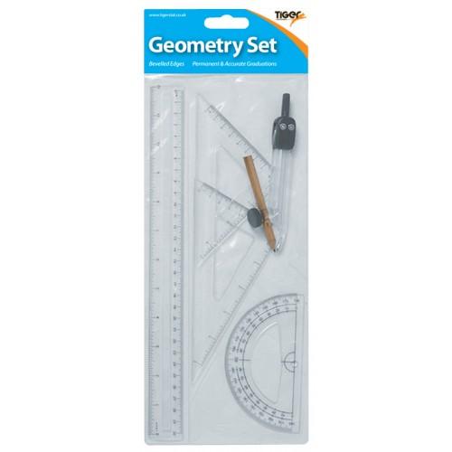 Geometry Set 5 Pieces