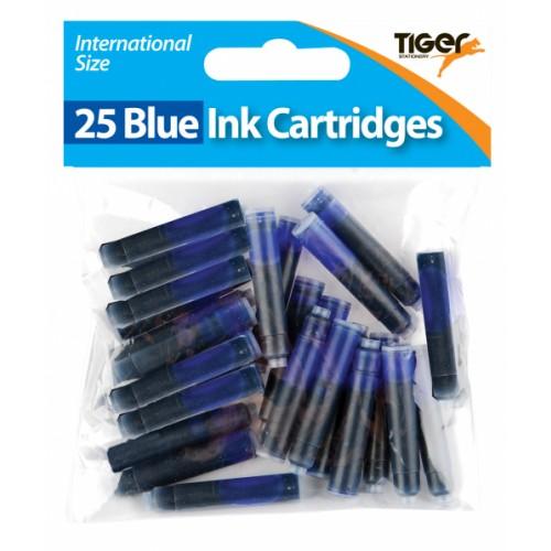 Tiger Blue Ink Cartridges,  (Pack of 300) 301090
