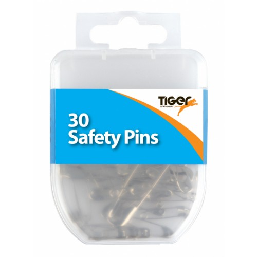 Tiger Steel safety Pins