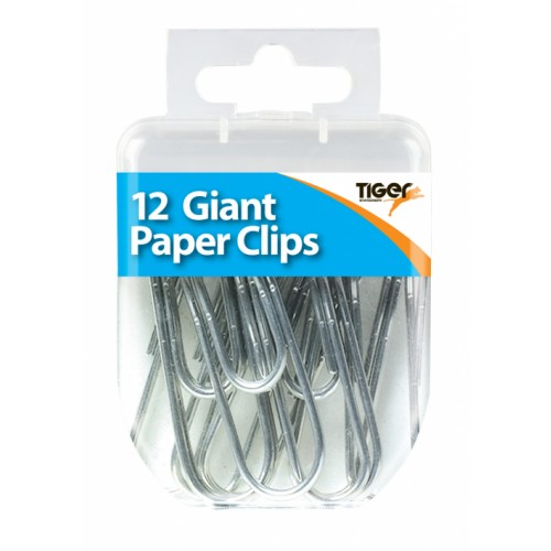 Tiger Giant Paper Clips