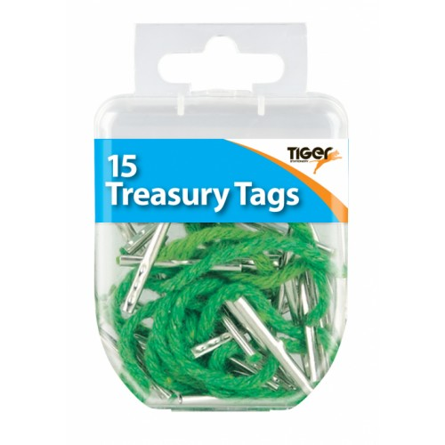Tiger Treasury Tags