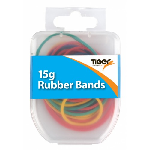 Tiger Rubber Bands Assorted