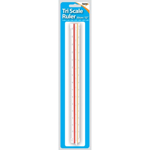 Tiger Triangluar Scale Ruler