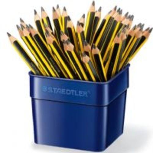 JUMBO Staedtler Tri Plus Blacklead Pencils Tub Of 48 119TUB48