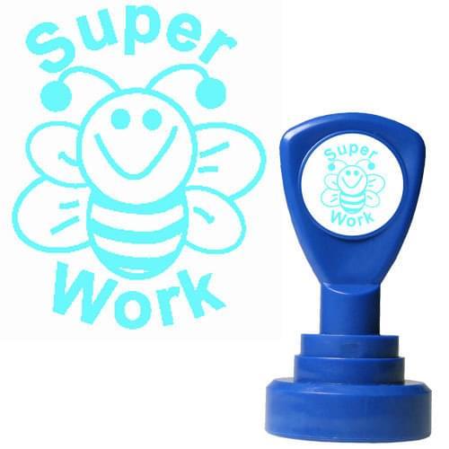 Classmates Motviational Stamp Super Work Bee