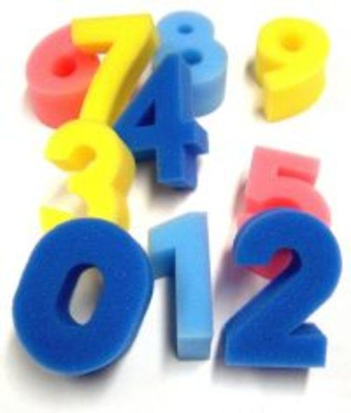 Foam Number Shapes Pack OF 10