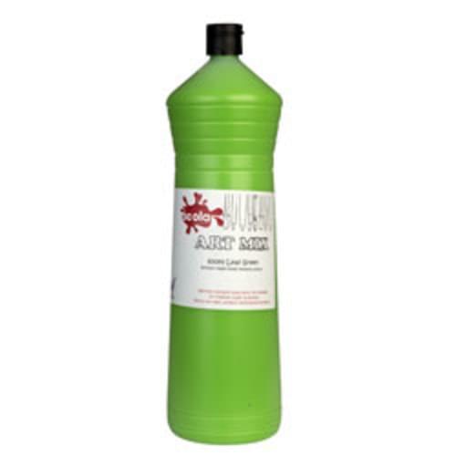 Artmix  Readymix Paint 600ml. Leaf Green