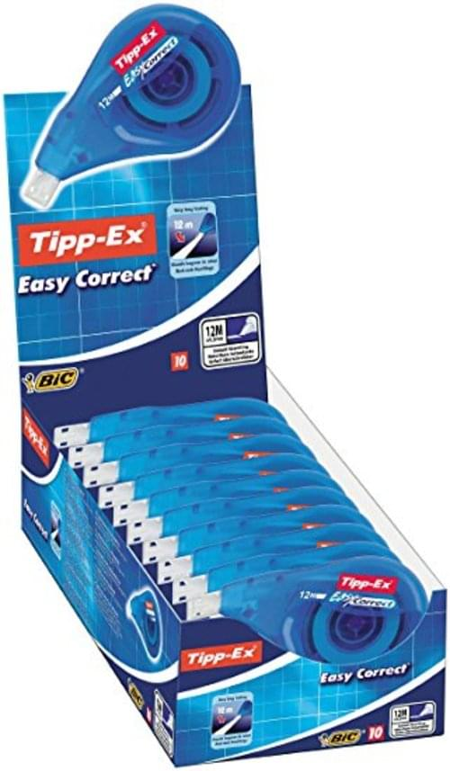 Tippex Easy Correction Roller 5mm x 14mtrs Pack 10s