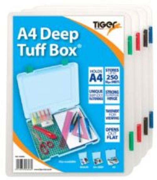 Tiger Staionerys A4 Deep Tuff Box