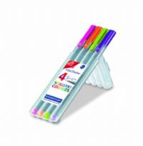 Staedtler Tri Plus Teacher Marking Pens Assorted 4s
