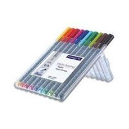 Staedtler Tri Plus Fineliner Pens Assorted