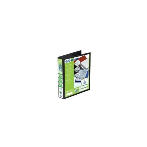 Panorama Presentation Binders A4 2 Ring 25mm Capacity Black Pack 6s
