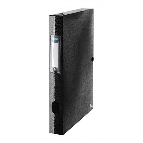 Elba Filing Box 40mm Capacity Black