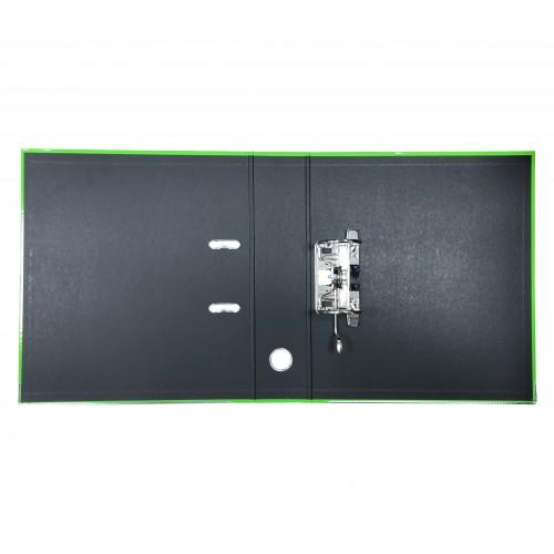 Elba Laminated Lever Arch, 70mm Spine, Light Green