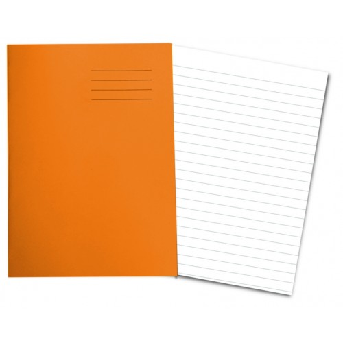 ORANGE Exercise Books A4+ 80 Pages 12mm Ruling