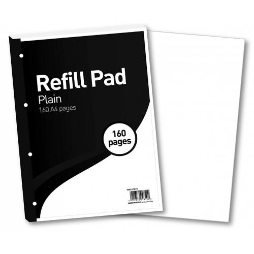 FBO Refill Pad A4 160 Pages Plain