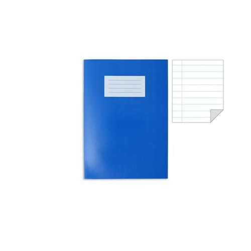 Oxford Laminated Exercise Book  A4 8mm ruled and margin 80 Page Dark Blue
