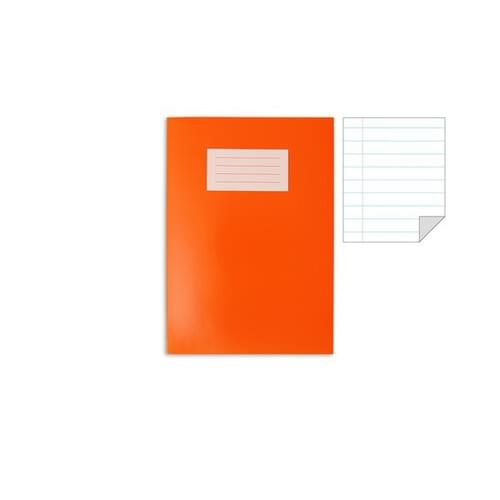 Oxford Laminated Exercise Book  A4 8mm ruled and margin 80 Page Orange