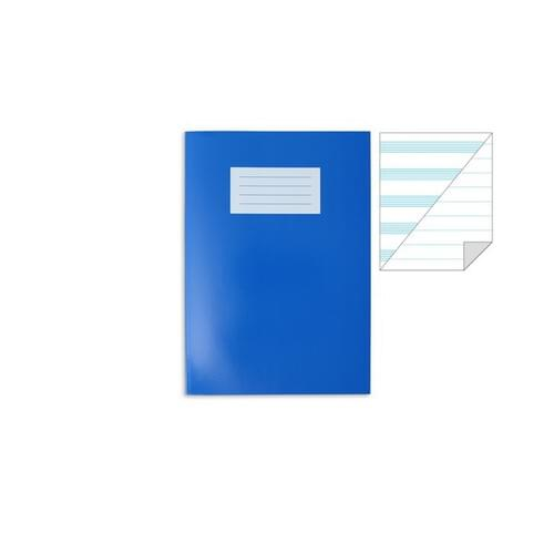 Oxford Laminated Exercise Book  9 X 7  MUSIC 9 Stave / 8mm ruled ALT 48 Page Dark Blue
