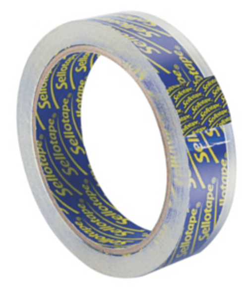Sellotape Super Clear Tape 24mm x 50mtrs.