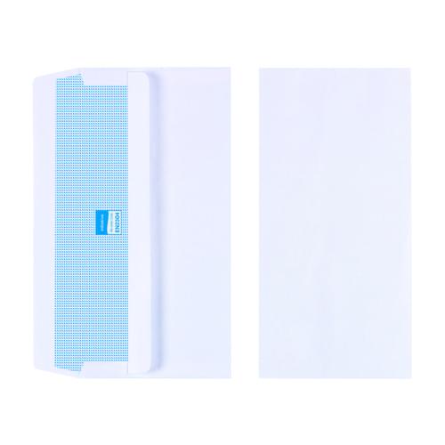 Initiative White Envelopes DL 110mm x 220mm Self Seal Plain 90gsm Box 1000s