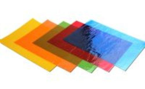 Cellophane Sheets A4 Assorted Pack 48 BI2614