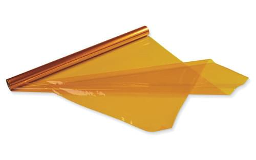 Cellophane Roll 500mm x 5mtrs. Yellow
