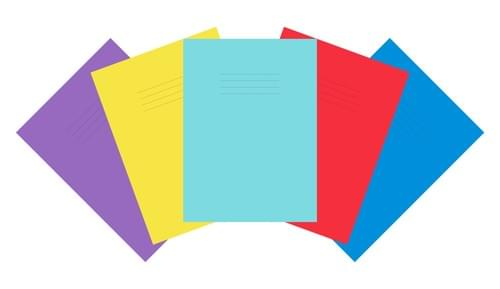 Premium Laminated Scrap book A4+ 32 Pages Assorted Colours