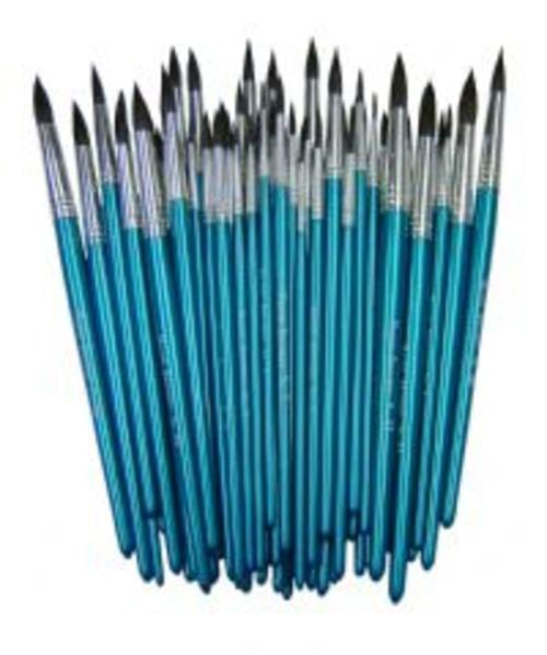 Water Colour Brushes Asssorted Pack 30s