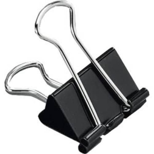 Initiative Foldback Clips 25mm Pack 10s