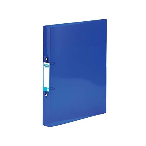 Elba Snap Frosted Ring Binders A4 Blue 400002002