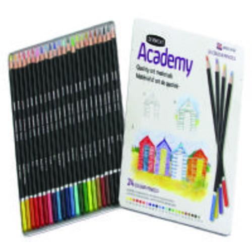 Derwent Academy Colouring Pencils Assorted 24s