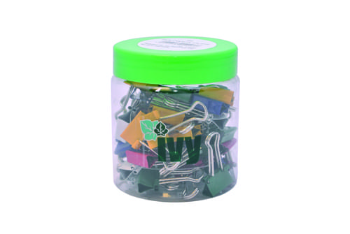 Foldback Clips 19mm Assorted Tub 50s
